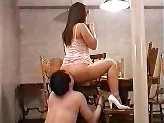 Asian Mistress and slave service