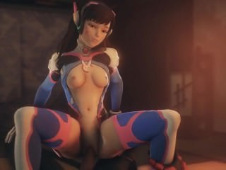 D Va POV, the drained way to play Overwatch