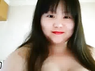 Fat Chinese trull playing with her pair 2