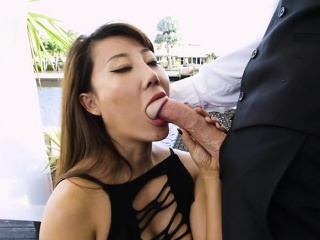 Hot Nabob Tiffany Squirt Sucks Big Cock Of Geeky Adjunct