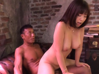 Gorgeous milf Wakaba Onoue sex upon two younger males