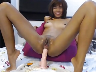 Asian girl webcam anal front