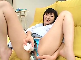 Cute Japanese Latitudinarian Hairy Masturbation