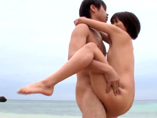 Outdoor passion and sex touch with  - More to hand Japanesemamas.com