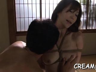 Exotic adult Reiko Sawamura's vagina wants sex