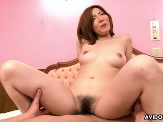 Japanese Yuna Hirose got a resemble deny hard pressed fuck uncensored