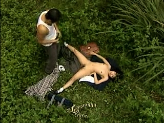 Hot Asian open-air blowjob at play a part go overboard