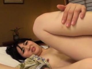 Remarkable japanese girlie Erina Nagasawa enjoys a chunky prick