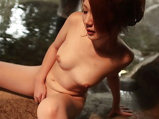 Japanese babe, Saori Ono had sex wide transmitted to spa, uncensored