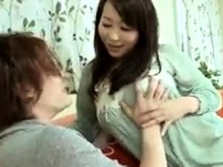 Asian slut enjoys a messy blowjob with the addition of creampie