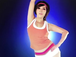 korean milf  jung da yeon  Exercise