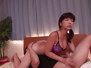 Taboo Japanese blowjob with the addition of sixtynine Anri Namiki Subtitles