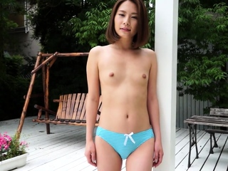 Japanese beautiful outdoor lampoon Ian Hanasaki