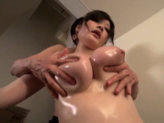 Rie Tachikawa gets the gumshoe up th - More at Slurpjp.com