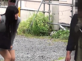 Japanese whore pissing