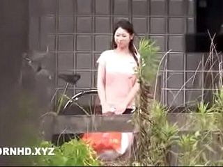 Japanese housewife fucked outside the house boost pennies is dominant