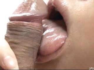 Japanese Honey Yukina Momose Licking with the addition of Weathering Puristic Balls