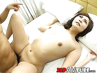 Cute japanese girl out of carry out of creampie