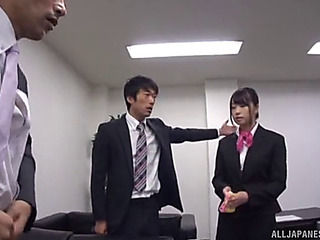Cutest japanese honeys having a penis riding session in collusion