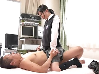 Baby-Faced Elfin Japanese Teens With Tiny Tits In Schoolgirl Unchangeable Getting Fucked