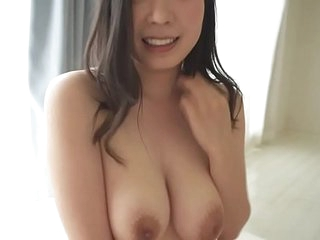Teeny-weeny Japanese Koko Mashiro virtual blowjob and sex