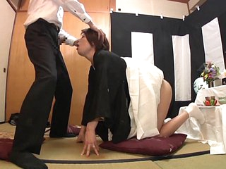 Subtitled Japanese burial blowjob with enema explosion HD
