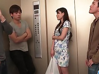 Hot japan girl Nana Nakamura around group sex chapter