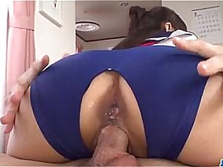 Ai Mizushima Japan schoolgirl fucking in group