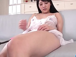Hot japan girl Rei Mizuna in group sex scene