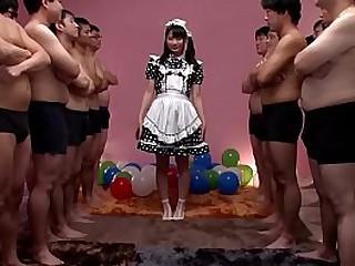 JAV huge gokkun event Airi Natsume naughty maid fellatio approximately glass Subtitles