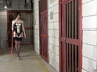 Japanese Dominatrix Sherry Strapon coupled with Immutable Facesitting Humiliation