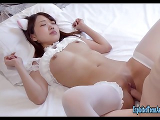 Jav Order of the day Girl Majiro Fucks Well-rounded Pocket-sized Babe Wearing Lingerie Doing Cowgirl Excellent Amateur