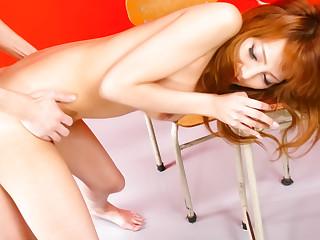 Crazy Japanese whore Aizawa Ren in Amazing JAV uncensored MILFs movie