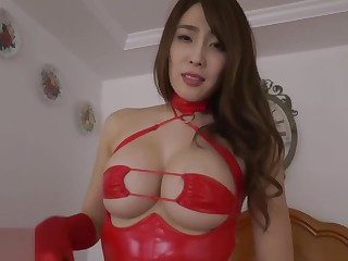 Tomomi Morisaki Red latibulize queen surpasses female sex