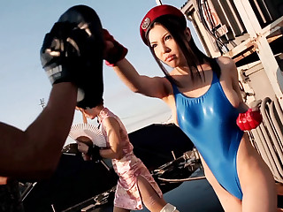 Hottest Japanese models Sofia Takigawa, Tia Bejean in Amazing JAV censored Fetish, Group Copulation scene