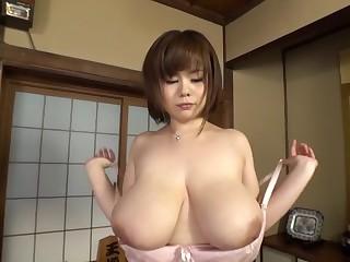Amazing Japanese model prevalent Fabulous Big Tits, BBW JAV movie
