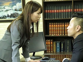 Yui Hatano Resolves Put the screws on With A Blowjob - JapanHDV