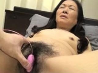 Ricochet Japanese flimsy pussy toying