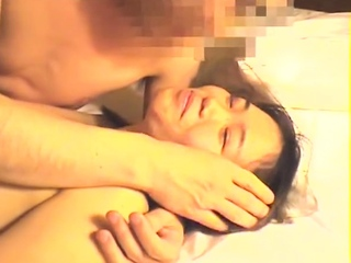 Amateur japanese hairy teen rides a fat cock