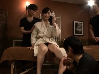 Sexy X massage with asian milf fingered wits Anita