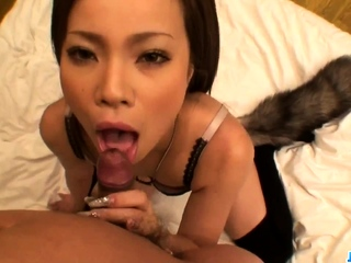 POV sex experience along Japan babe - Near at JavHD.net