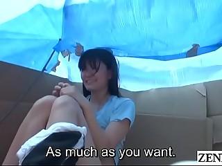 Homeless JAV star sex for food forth cardboard home Subtitled