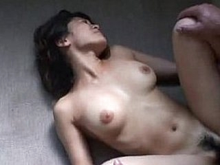 Japanese Teen Cutie Gets Her Hairy Cunt Pounded Hard