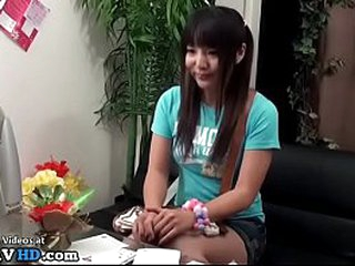 Jav massage with adorable teen becomes too hot