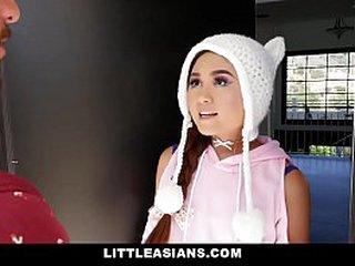 LittleAsians - Japanese Teen Rammed Firm