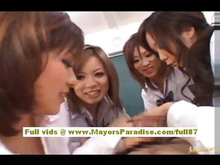 Japanese models are cock banter nurses