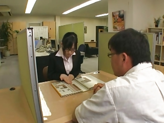Haruka Motoyama - Office Son Intercourse Servant (Part 3 of 4)