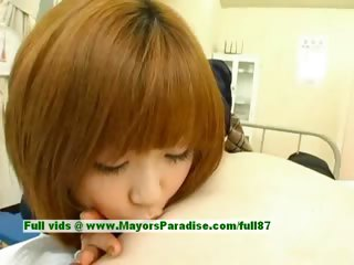 Rio Hamasaki unproficient comely Japanese unspecified joking a man