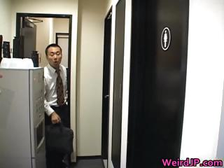Hot Japanese chicks do the weirdest shit part5