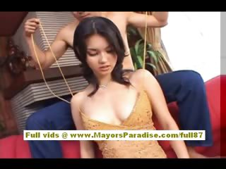 Maria Ozawa is a hot asian chick who enjoys hot skylarking with guys